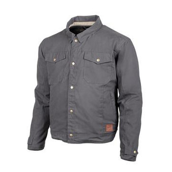 Cortech The Denny Canvas Jacket - Charcoal