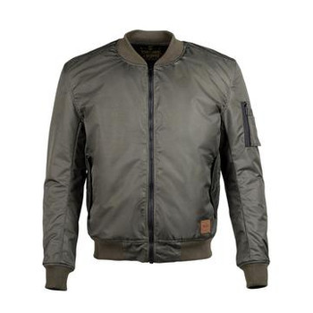 Cortech The Skipper Waterproof Bomber Jacket - Olive