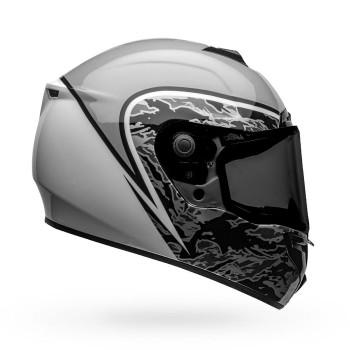 Bell SRT Assassin Helmet - Gloss Gray/White Camo