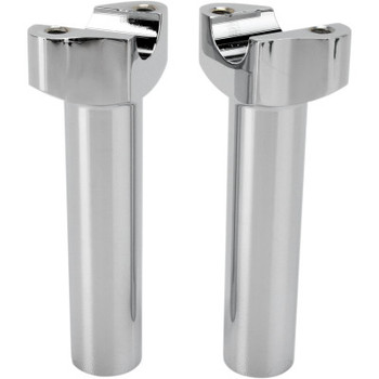 "Drag Specialties 5.5"" Forged Aluminum Handlebar Risers - Chrome"