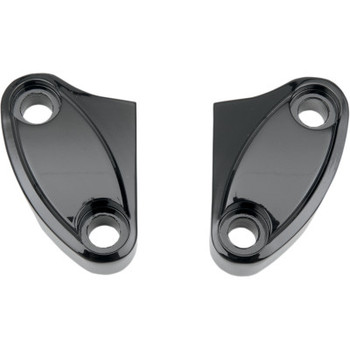 Drag Specialties Two Piece Harley Handlebar Clamps