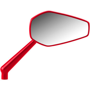 Arlen Ness Harley Mini Stocker Mirror Red