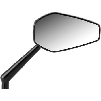 Arlen Ness Harley Mini Stocker Mirror Black