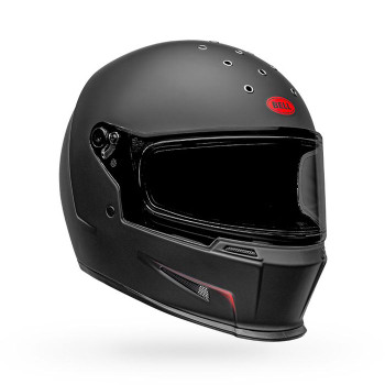 Bell Eliminator Vanish Helmet - Matte Black/Red