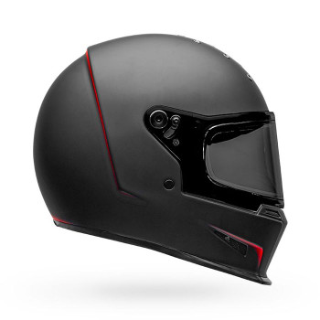 Bell Eliminator Vanish Helmet - Matte Black/Red