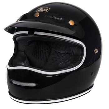 Urban Helmets BigBore Blackout Vintage Helmet