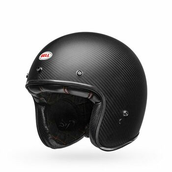 Bell Custom 500 Carbon Helmet - Matte Black
