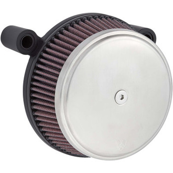 Arlen Ness Stage 1 Big Sucker Air Cleaner Kit Brushed fits Twin Cam 1999-2017