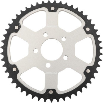 SuperSprox Harley Davidson Stealth Sprocket for Chain Drive '00-'Up - Silver