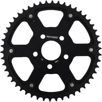 SuperSprox Harley Davidson Stealth Sprocket for Chain Drive '00-'Up - Black