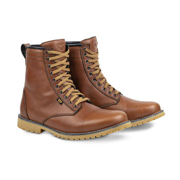 Cortech The Executive Classic Styled Riding Leather Boot - Brown
