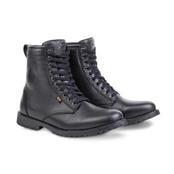 Cortech The Executive Classic Styled Riding Leather Boot - Black