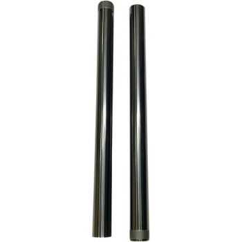 "Pro-One 49MM Black DLC Coated  Harley Fork Tubes - Std. 25.5"" fits '06-'17 Dyna Models"
