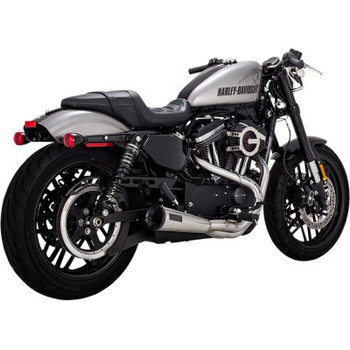 Vance & Hines 2 into 1 Stainless Upsweep Exhaust - fits '03-'20 XL Sportster
