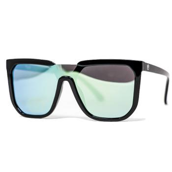 Flight Eyewear Madison Sunglasses - Black Frames / Gold Lens