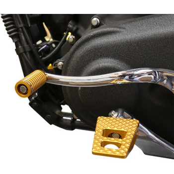Thrashin Supply Pegs P-54 Extra Grip fits Harley Dyna, FXR, & Sportster - Gold