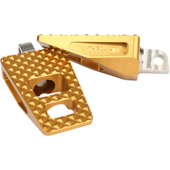Thrashin Supply P-54 Extra Grip Pegs fits Harley '18 & Up Softail - Gold