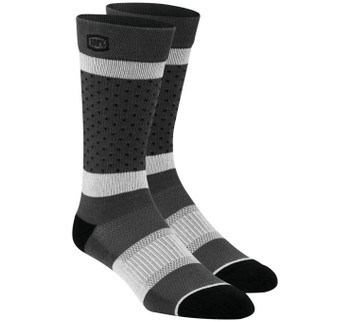 100% Men's Opposition Socks - Grey