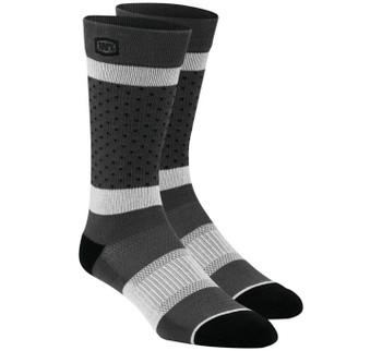 100% Men's Opposition Socks - Grey