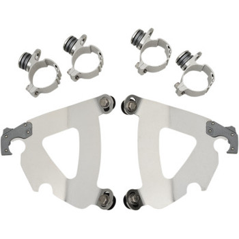 Memphis Shades Road Warrior Trigger-Lock Mount Kit for '93-'98 FXDWG, '84-'86 FXWG, '84-'99 FXST, '98-'99 FXSTB