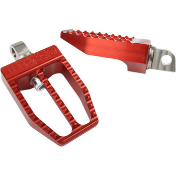 Thrashin Supply Militant Pegs  fits Harley '18 & Up Softail - Red