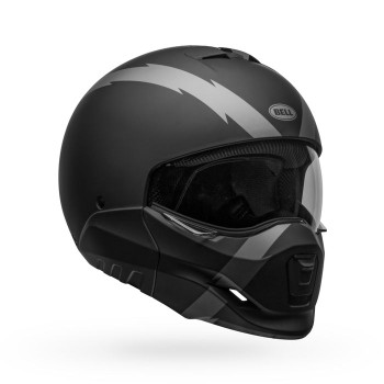 Bell Broozer Helmet - Arc Matte Black/Grey