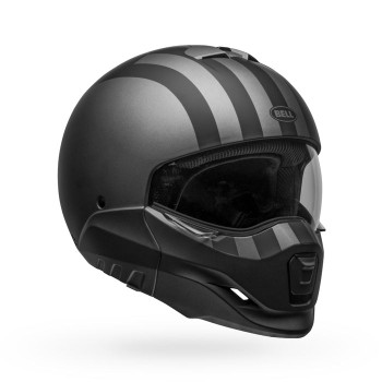 Bell Broozer Helmet - Free Ride Matte Grey/Black