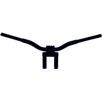 LA Choppers Kage Fighter Handlebars Flat Black