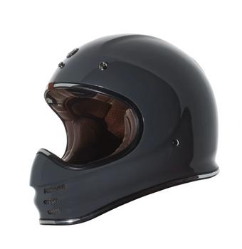 Torc Helmets T-3 Moto Classic Helmet - Nardo Grey