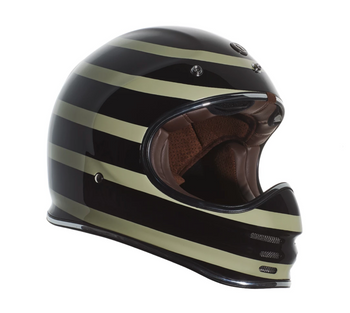 Torc Helmets T-3 Moto Classic Helmet - Jail Break