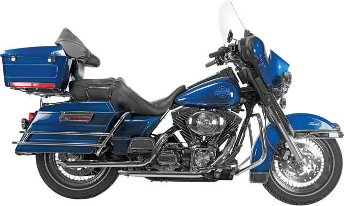 Drag Specialties Rear Header Exhaust Bracket Tab #65619-98 Harley Davidson