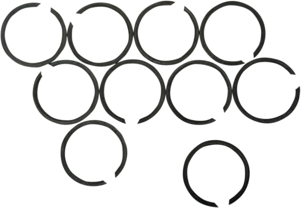 Eastern Motorcycle Parts Retaining Rings for Exhaust