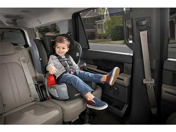 Britax Grow with You Clicktight vs. Frontier -  Forward Facing Car Seat Booster Seat
