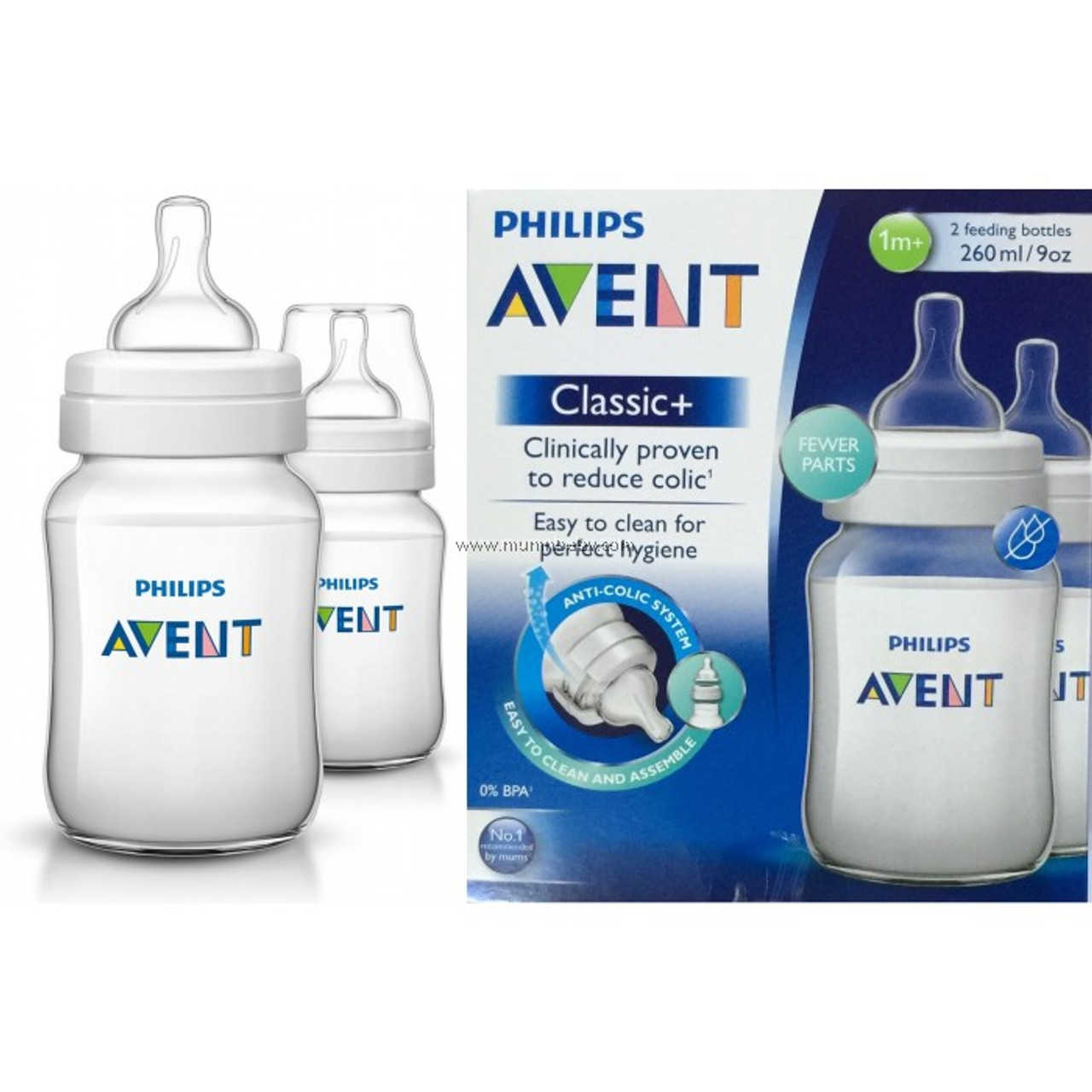 Avent Classic Silicone Teats Baby Bottle Feeding Accessory