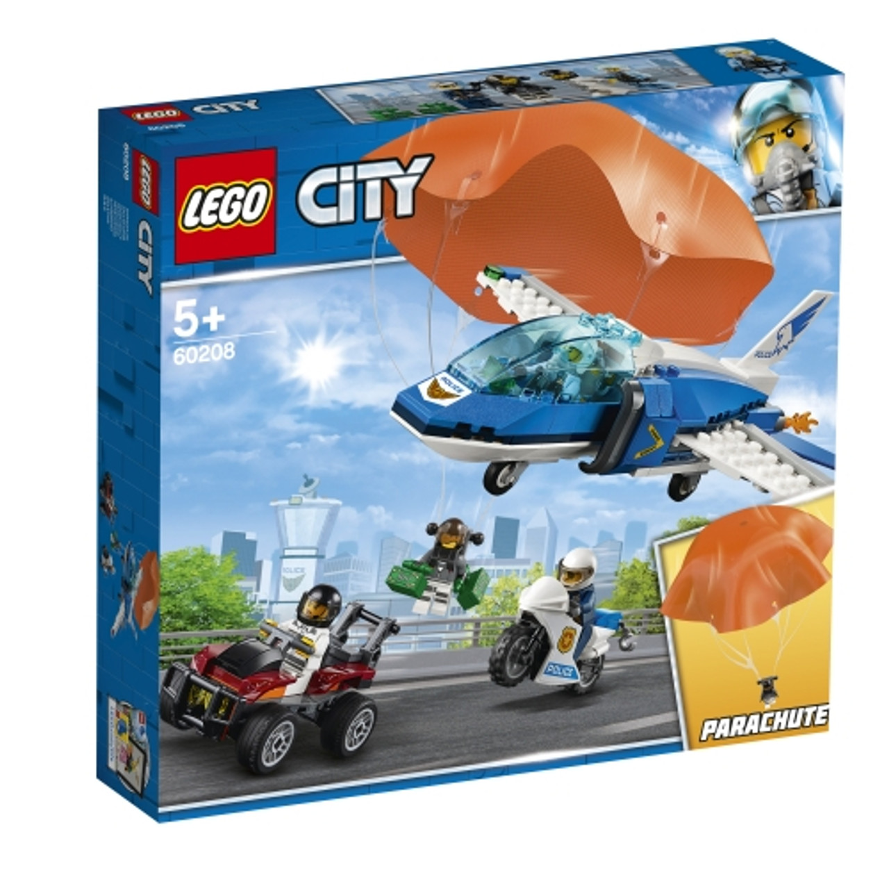no box LEGO CITY Sky Police Diamond Heist Set  NEW sealed bags