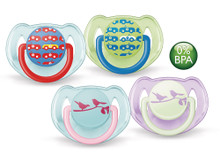 Buy  Philips AVENT Fashion Soother 6+ mths (2pk) Online at  Babies