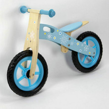Buy  JR Wooden Balance Bike - Blue (Frozen) Online at  Babies