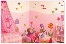 Buy  Fun to See - Funky Flowers Room Make-Over Kit Online at  Babies