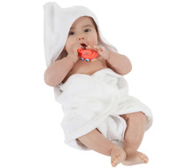 Buy  Mum 2 Mum Hooded Towels - White Online at  Babies