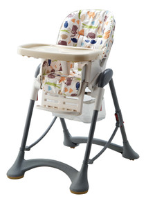 Buy  Super Nanny Aurora Highchair - Animal Print Online at  Babies