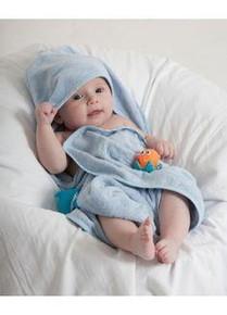 Mum 2 Mum Hooded Towels - Baby Blue