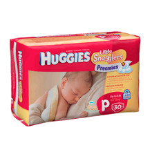 Huggies Little Snugglers Premature Nappies 30s
