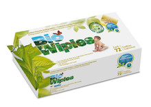 Bio Wipies Biodegradable Baby Wipes 72s