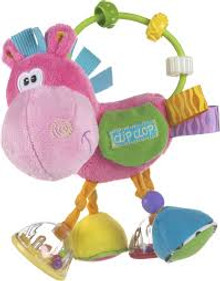 Playgro Toy Box Clopette Activity Rattle - Pink