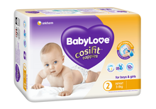 Babylove Cosifit  Infant nappies 96