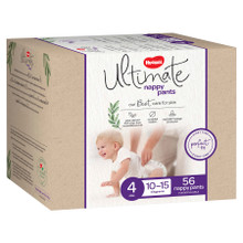 Huggies Ultimate Unisex Nappy Pants Size 4
