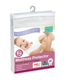 Protect A Bed Cotton Terry Elastic Strap