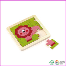 Animals 9pc wooden puzzle set - Lion
