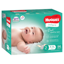 Huggies Ultimate Infant Nappies 96s