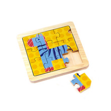 Animals 9pc wooden puzzle set - Giraffe
